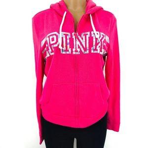 PINK Victoria's Secret Zip Hoodie Jacket